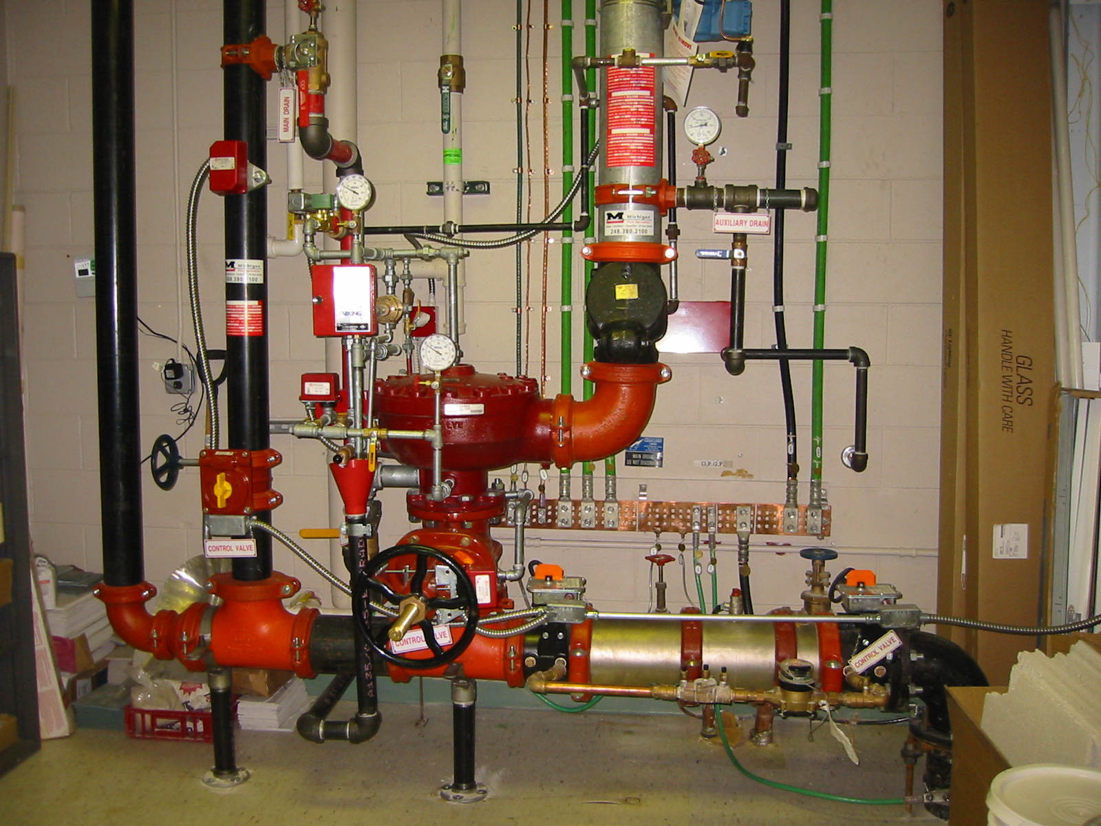 Fire Protection Fire Readiness Equipment By Contractors